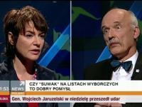 TAK czy NIE - Janusz Korwin-Mikke vs Kazimiera Szczuka 12.05.2014