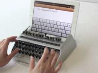 Maszyna do pisania na iPadzie