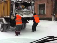 Rosyjscy śmieciarze