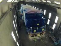 Malowanie lokomotywy