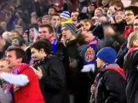Radość krakowskiej Wisły po meczu z Twente