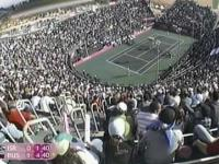 Chamstwo publicznosci izraelskiej podczas meczu Sharapovej