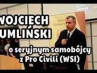 Wojciech Sumliński o seryjnym samobójcy z Pro Civili (WSI)