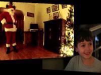 Święty Mikołaj nagrany poprzez ukrytą kamerę