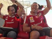 Kierowcy F1 w najszybszym Roller Coasterze świata