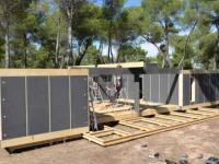 Pasywny dom zbudowany w ciągu 4 dni przy użyciu wkrętarki