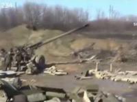 Wojna na Ukrainie: Ataki czołgów i artylerii