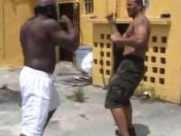 Kimbo Slice fights vs. Chico