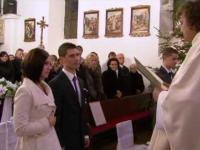 Bardzo pozytywnie zmontowane intro ze ślubu i wesela