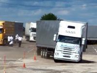 Rosyjski kierowca ciężarówki - Level PRO