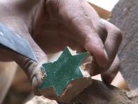 Ręczne wykonanie mozaiki