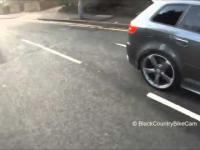 Rowerzysta ukarany za jazdę środkiem jezdni