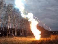 Zwarcie linii 110 kV