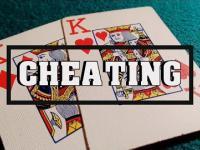 Karciany oszust w akcji