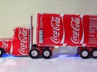 Domowy Coca Cola Ciężarówka