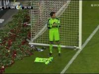 Pożegnanie Ivana Turiny podczas meczu AIK