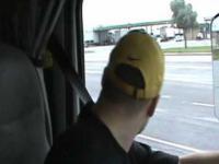 Polski kierowca ciężarówki za granicą