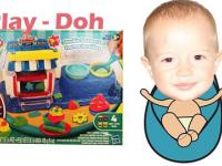 Play-Doh with BabyK