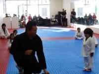 Aya - Pierwszy stopień w Taekwondo młodego adepta