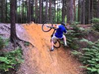 Trudne zadanie dla rowerzysty