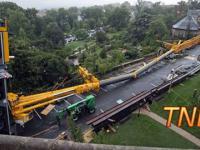 Kompilacja wypadków na budowie 2015