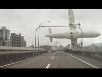 Wideo z katastrofy tajwańskiego samolotu w Chinach
