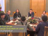 Premier Tusk nie wie po co wysyła sześciolatki do szkoły