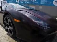 Lamborghini które zmienia kolor!