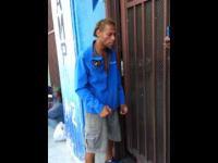 Bezdomny z Los Angeles z nieziemskim głosem