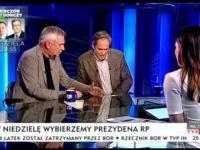 Krzysztof Materna i Jerzy Zelnik masakrują reżimową telewizje wraz z Beata Tadla na czele