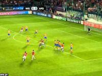 Wisła Kraków - APOEL Nikozja - Skrót meczu
