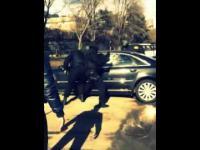 Szybka i bolesna akcja z policji - szturm na furę