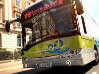 Elektryczny autobus który ładuje się na przystankach