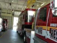 Straż pożarna w Dania Beach, hrabstwo Broward na Florydzie