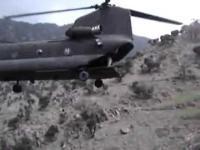 Ekstremalne lądowanie helikoptera w Afganistanie
