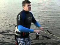 kite - gruba akcja na Mazurach