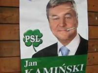 Przykład nowego plakatu wyborczego 3D