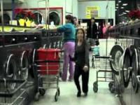 Taniec w pralni