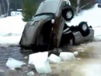 Jak nie wyciągać auta z wody