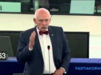 Janusz Korwin-Mikke o imigrantach w parlamencie europejskim