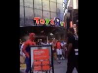 Spiderman w akcji