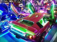 świecące auta z Japonii