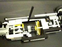 Automatyczna skrzynia biegów z klocków lego