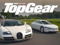Bugatti Veyron vs Volkswagen XL1   TopGear   Test Drive   ENG Subs