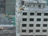 Chińska rozbiórka budynku