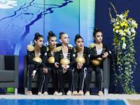 Juniorki z Azerbejdżanu prezentują swoje umiejętności
