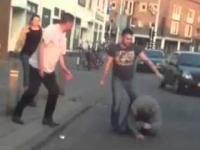 Grupa Turków brutalnie bije Polaka w Holandii