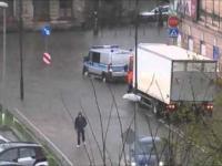 Gwałtowna ulewa w Łódzkiem