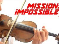 Mission Impossible 5 - theme - cover by One Violin Band