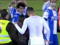 Karim Benzema-Tak traktuje się fanów